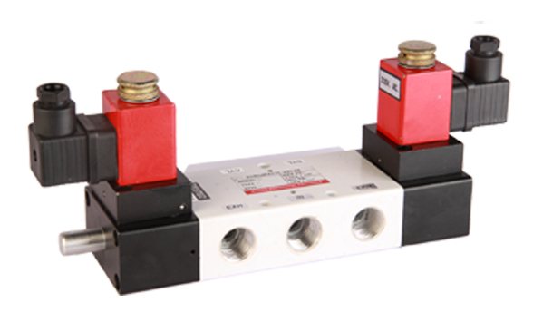 Double Solenoid Operated Pneumatic Valves